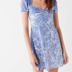 💎 Velvet Cinderella Mini Dress